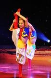 dzieci tana mongolian występ obraz royalty free