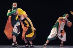 Dzieci tanczy na scenie Fotografia Stock
