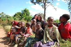 Dzieci Tanzania Afryka 05 Fotografia Royalty Free
