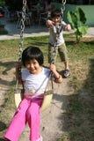 dzieci target1352_1_ Obrazy Stock