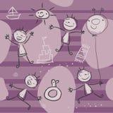 dzieci target1639_1_ ilustracja wektor