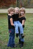 dzieci trzy Obraz Royalty Free