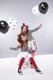 Dzieci ubrań mody sukni stylu dziewczyny Fotografia Royalty Free