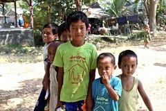 Dzieci w Dala Zdjęcia Royalty Free