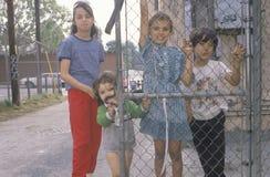 Dzieci w Los Angeles getcie Fotografia Stock