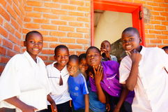 Dzieci w Malawi, Afryka Zdjęcia Royalty Free