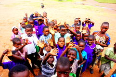 Dzieci w Malawi, Afryka Zdjęcie Royalty Free