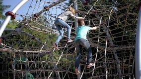 Dzieci w przygoda parku zbiory wideo