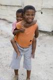 Dzieci w społeczności miejskiej w S.A. Zdjęcia Stock