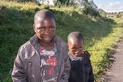 Dzieci w Tanzania Fotografia Royalty Free