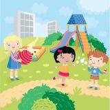 Dzieci światowi bez uprzedzenia ilustracja wektor