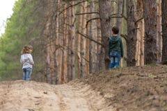 dzieci wpólnie target935_1_ Fotografia Royalty Free