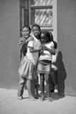 Dzieci żyje w Mondesa slamsy Obraz Stock