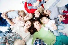 Dzieci z mamami Fotografia Royalty Free