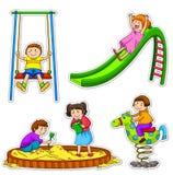 dzieciaków bawić się Zdjęcia Royalty Free