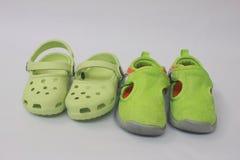 dzieciaków buty Obraz Royalty Free
