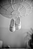 Dzieciaków buty Obrazy Royalty Free