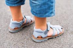 Dzieciaków buty fotografia royalty free