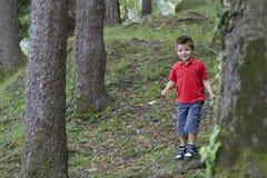 Dzieciaków drewna Zdjęcia Royalty Free