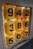 dzieciaków liczby zabawka Zdjęcie Royalty Free