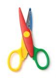 Dzieciaków nożyce Obraz Royalty Free