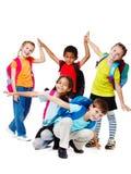 dzieciaków target181_0_ Zdjęcia Royalty Free