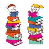 Dzieciaków target408_1_ royalty ilustracja