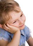 dzieciak ładna cicho obraz stock