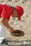 dzieciak baseballu Obrazy Stock