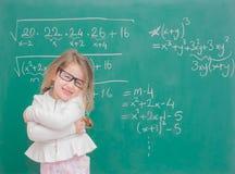 Dzieciak dziewczyny nauczyciel zdjęcie royalty free