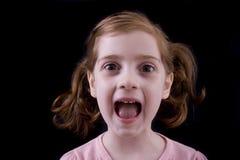 dzieciak głośno Zdjęcia Stock
