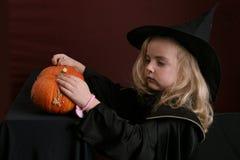dzieciak halloween. Zdjęcia Royalty Free