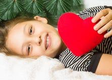 Dzieciak i nowy rok Zdjęcie Royalty Free