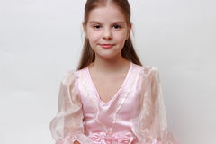Dzieciak jako princess obraz stock