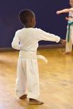dzieciak karate. Fotografia Stock