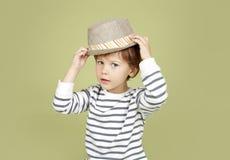 Dzieciak moda i Odziewać zdjęcia royalty free