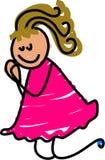 dzieciak modlitwa Obraz Royalty Free