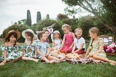 Dzieciak mody pojęcie fotografia royalty free
