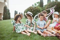 Dzieciak mody pojęcie zdjęcia royalty free