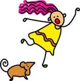 dzieciak mysz Zdjęcie Stock