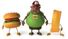 dzieciak nadwaga Obraz Royalty Free