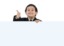 dzieciak posetive Zdjęcie Stock