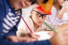 Dzieciak przyszłości inżyniery Zdjęcia Stock