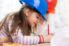Dzieciak przyszłości inżyniery Fotografia Royalty Free