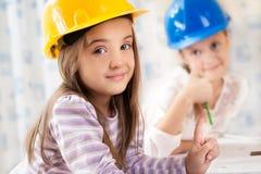 Dzieciak przyszłości inżyniery Obrazy Royalty Free