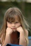 dzieciak smutny Obraz Royalty Free