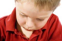 dzieciak smutny Obraz Stock