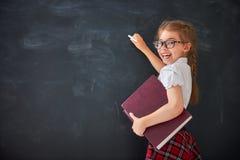 Dzieciak uczy się w klasie Zdjęcie Stock