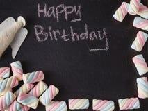 Dzieciak urodzinowej karty pojęcie Obraz Royalty Free