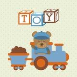 Dzieciak zabawki ilustracja wektor